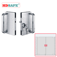 New style high quality door lock with pull handles