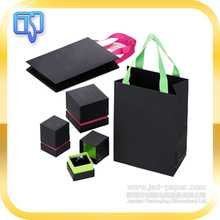High-End Customized Oem Packaging Suppliers Black Matte Color Jewelry Cardboard Packaging Box Pakistan