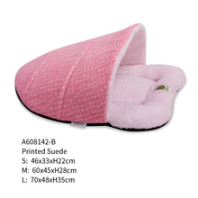 Wholesale Warm Soft Foldig Portable pet bed for cats