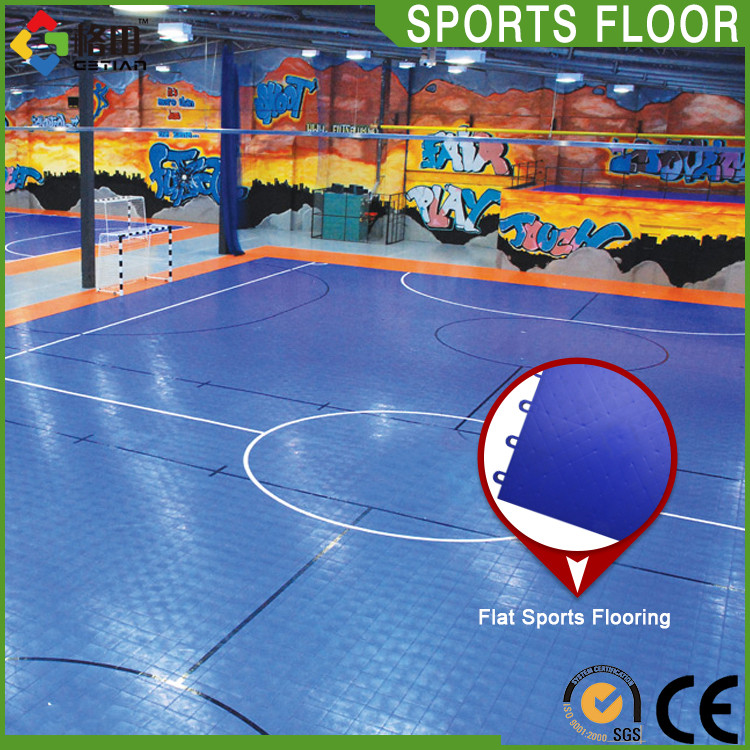 International certificate quality assurance hot sale futsal court sport pp floor