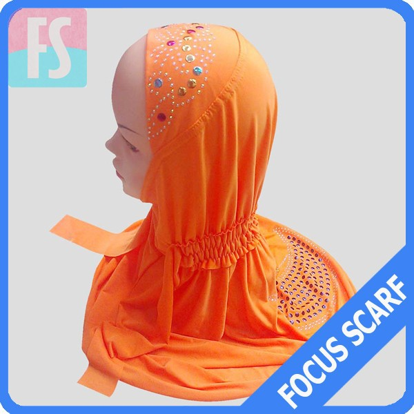 beautiful hijab <strong>scarf</strong> for children