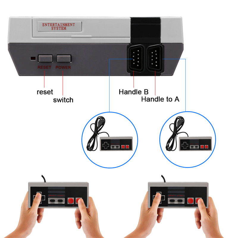 Christmas Gift 620 Tv Box Handheld Digital Mixing Gaming Furniture Video Retro Game Console