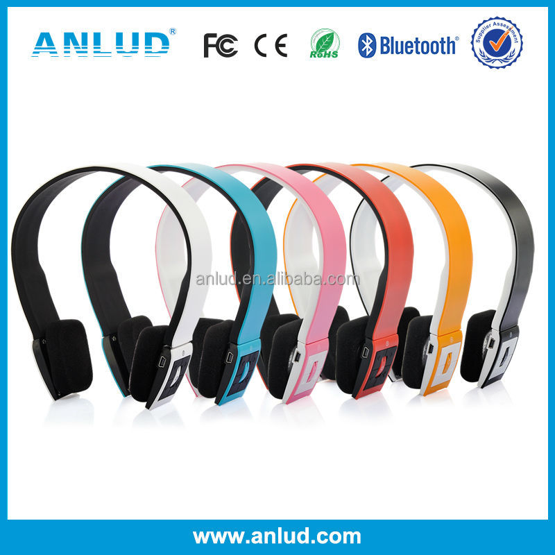 ALD02 Hot sale stereo headband bluetooth headset q8 with Good Quantity and Low Price
