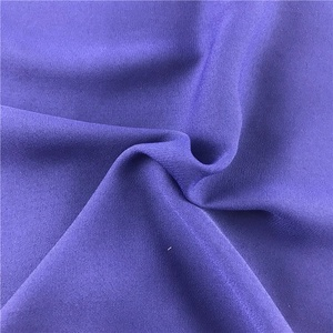 Good price 100 polyester moss plain crepe saree stretch fabric