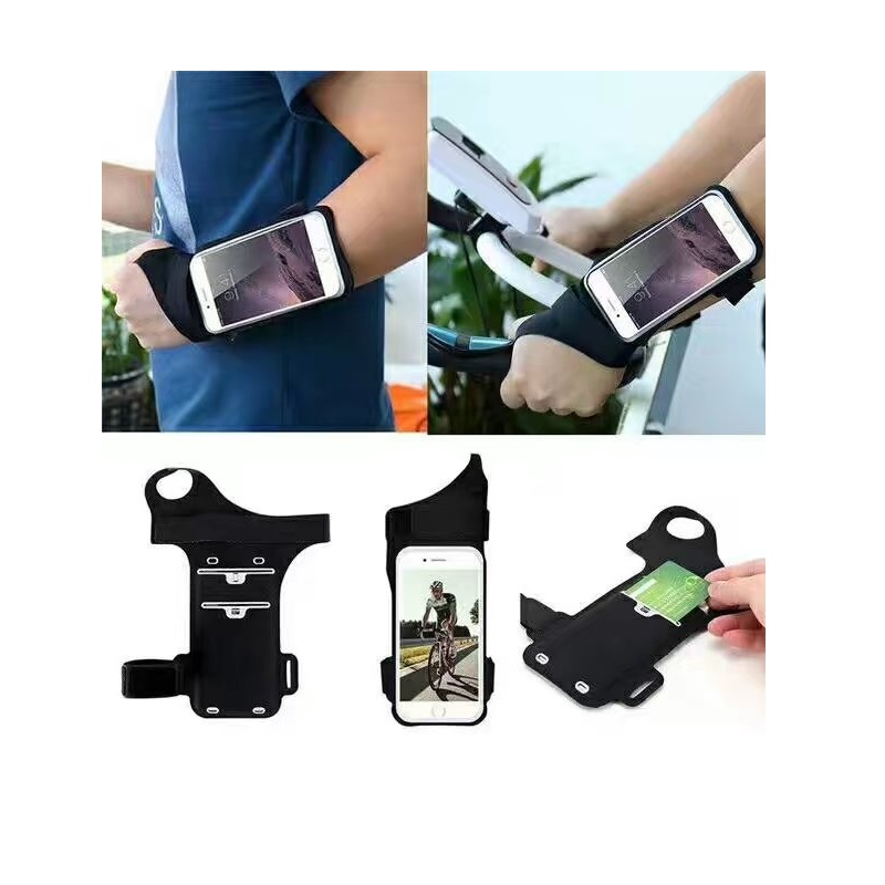 Fashion thumb arm band phone wrist bag holder case waterproof for sports,running,bike riding