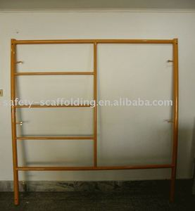 Steel Step Ladder Scaffolding System