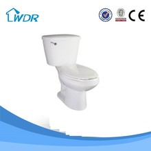 Spot goods ceramic decorative elongated siphon s-trap 300mm toilet seat