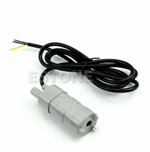 New 12V DC 1.2A Micro Submersible Motor Water Pump 5M 14L/Min 840L/H 6-15V