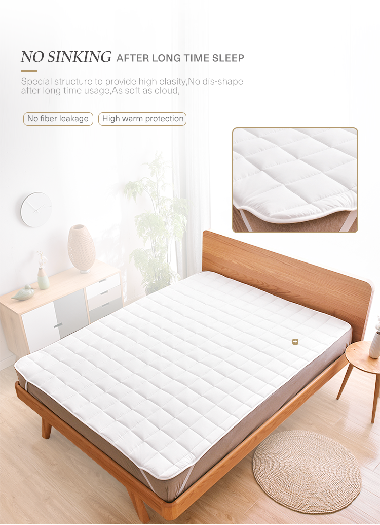Anti allergy double size gel memory foam mattress topper - Jozy Mattress | Jozy.net