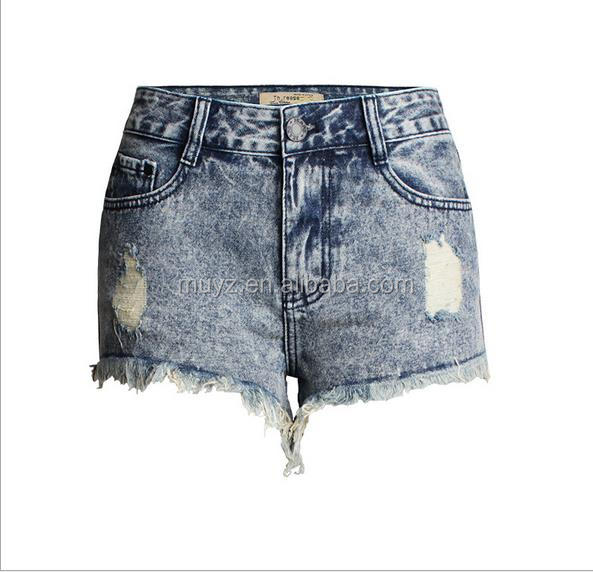 A0003T Sexy lady fashion High waist SKinny tight Shorts Women Denim Shorts Jean Shorts