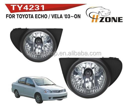 hot sale12v 55w fog lamp for TY ECHO/VELA2003-ON with DOT SAE certification