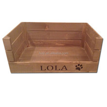 luxury custom new design wooden dog house with cushion