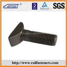 railway plow bolt track bolt switch bolt for rail fastening