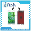 100% original clear lcd screen for iphone 5s,color change back cover for iphone 5s