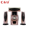 2015 High Quality Home Theater Bluetooth Soundbar with external subwoofer speaker CY A5