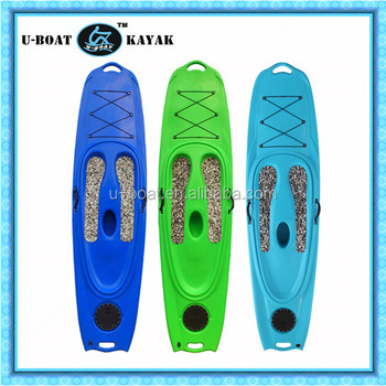 Surfboard with EVA foot pad