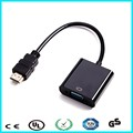 HDMI to VGA Converter Adapter with Audio for HDTV