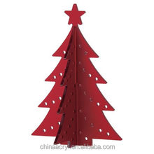 custom clear acrylic christmas tree for gift wholesale