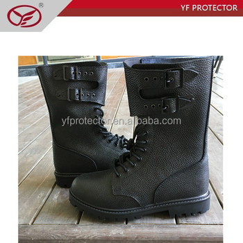 waterproof Genuine Leather military boots