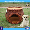 New design dog beds rattan cat basket wicker pet house for dog wicker pet basket