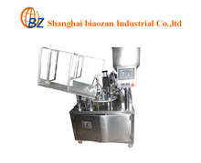 factory price semi-automatic toothpaste tube filling and sealing machine