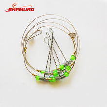 Stainless Steel Rigs Swivel Fishing Tackle Lures Pesca Baits Single Combination String Hook