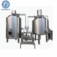 5 bbl brewhouse for sale/5 bbl stainless steel brew kettle for mini pub/500l commercial hotel bar beer brewing