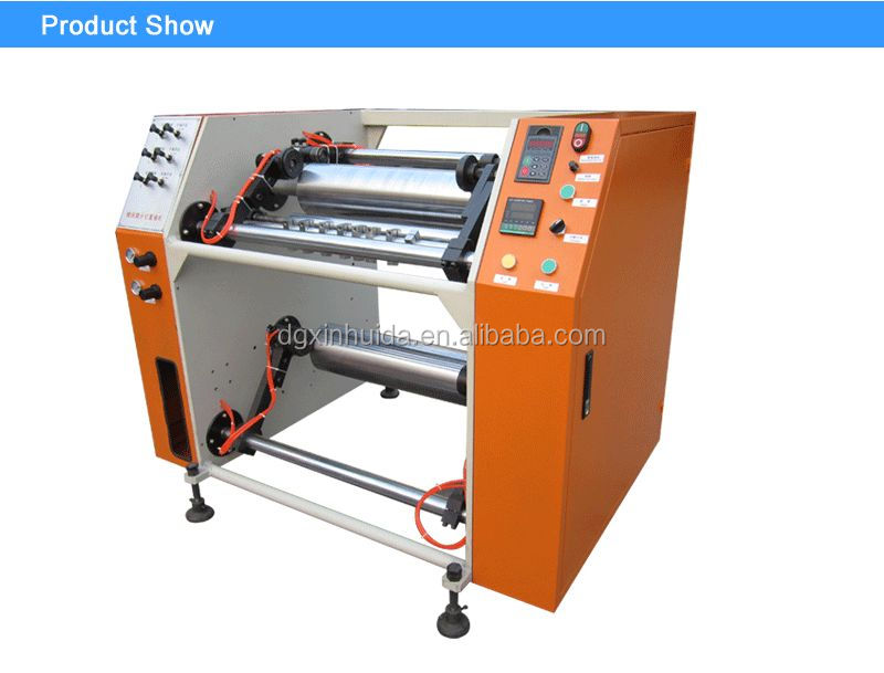 Automatic Jambo Roll cling Stretch Film Rewinder wrapping Machinery