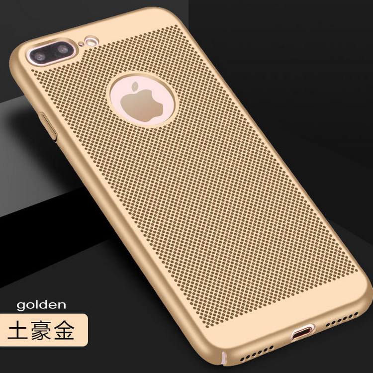 Breathable Heat Dissipation Slim Fit PC Graphic Case For iPhone 7/7 Plus