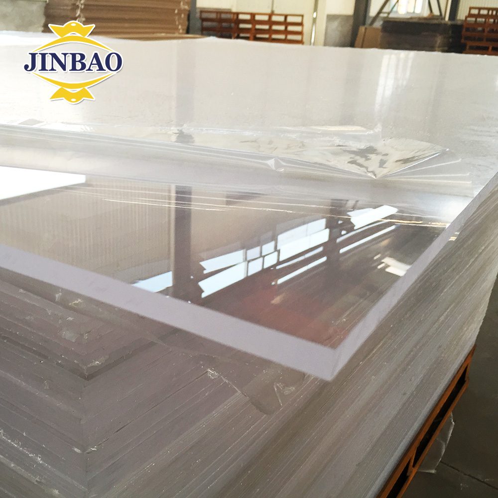china gold supplier 100mm acrylic plate for swimming pool