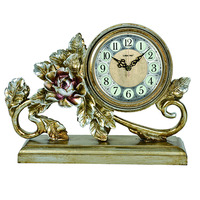 Table top gifts resin desk clock 1341