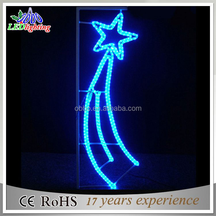 Europe hot sell star shape net light for holiday/wedding/christmas decoration
