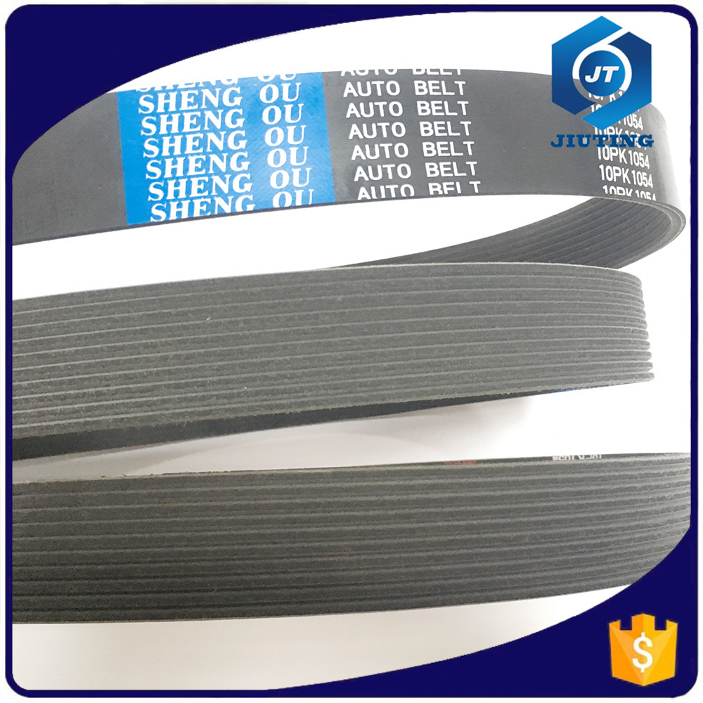 good quality and anti-abrasive ribbed three v belt, poly three v belt 3pk740 for car/auto