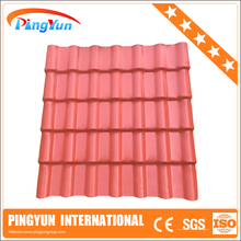 building material house plastic/plastic corrugated roofing sheets/plastic pvc roofing tiles
