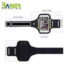 Newly design Neoprene reflective sports running personalized armband