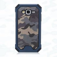 3 in 1 Classical pattern Army camouflage TPU + PC military style case for Samsung J1 mini