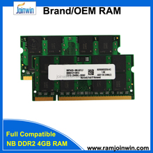 Eligible quality 800mhz ddr2 4gb memory ram laptops