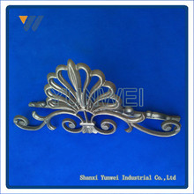 High quality cast iron ornaments for steel gate forged parts