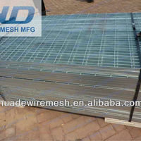 Hot Dipped Galvanized Security Steel Grating