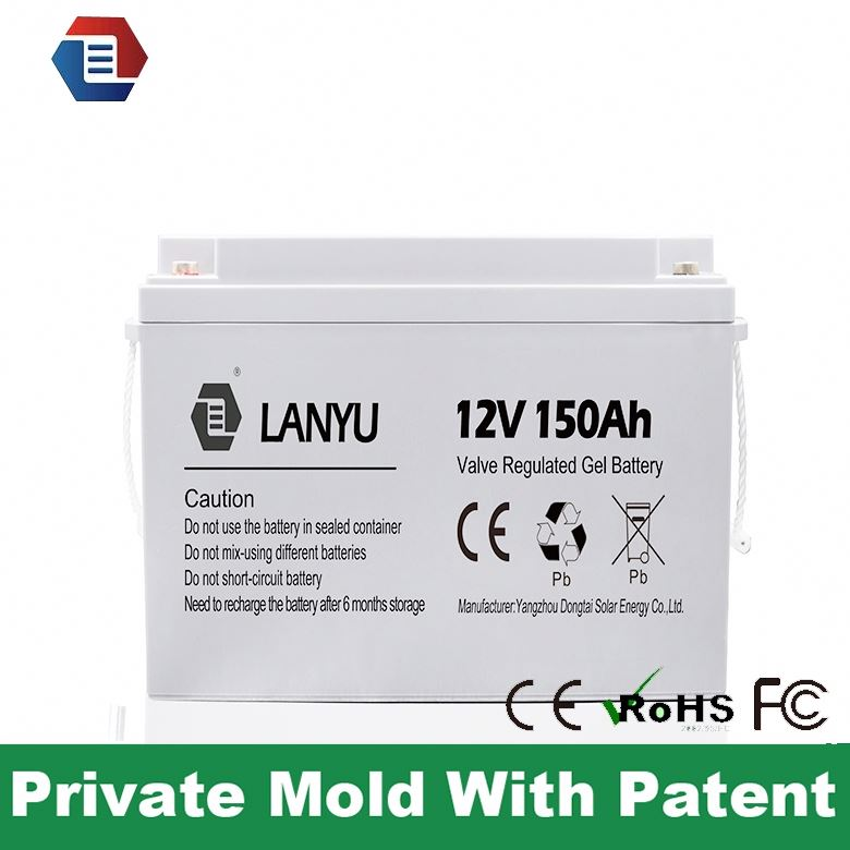 sealed type solar deep cycle 12v 150 amp battery price