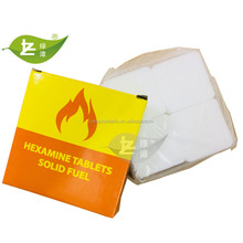 Hot Sell Malaysia Market 8Pcs Snow-White High Quality Hexamine Solid Fuel Square tablets