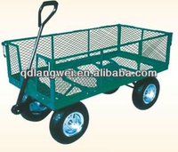 solid rubbe small garden cart