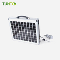 Very Cheap Price Good Quality Portable 15w Solar Power Generator Suitcase Muntifunctional Power Bank Charger