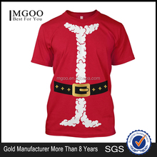 MGOO OEM Beautiful Family Gift Tees For Christmas Day Custom Christmas Printed T-shirts Snow Festival Apparel Wholesale