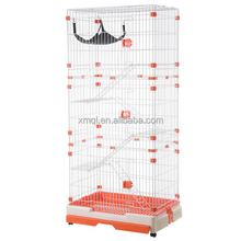Large Pet Cat Wire Cage Kennel With Tray & Hammock