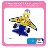 Toy plastic pull back Plane for children