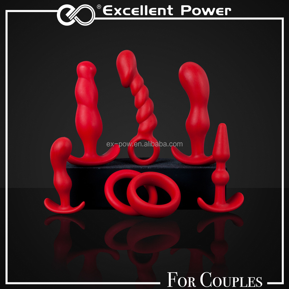 Hot Deal Sex Toy The Ultimate Couples Collection Anal Kit Butt Plug Set For Men For Women EU directives and regulations Approved