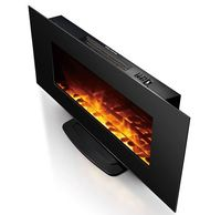 ECO-friendly High efficiency wall mount portable fireplace heaters electric