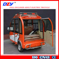 enclosed motor tricycle,the new style Adult tricycle with the high quality