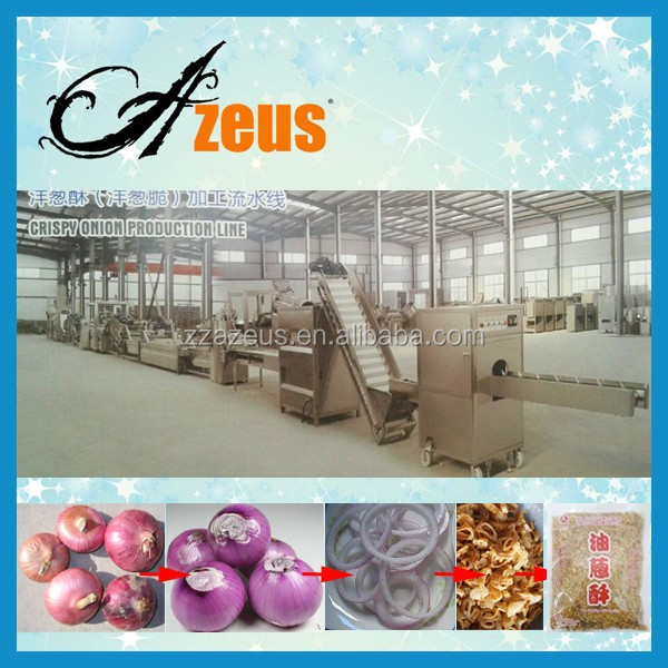 Stainless steel fried onion rings making machine